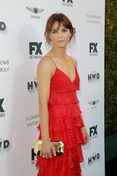 Keri Russell attends FX Networks' celebration of their Emmy nominees.