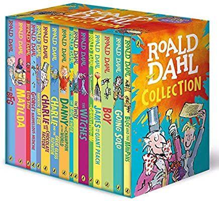 Roald Dahl Collection 16 Books Box Set Roald Dahl 9780241377291 Amazon Com Books In 2021 Roald Dahl Collection Roald Dahl Books Roald Dahl