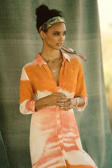 Cora Midi Shirtdress | Comfy Dresses