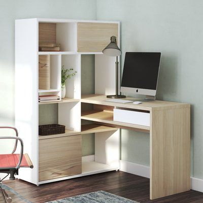 Zipcode Design Chang L Shape Credenza Desk Cheap Office