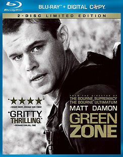 Don T Miss This Green Zone Blu Ray Dvd Disc 2010 2 Disc Set Starring Matt Damon Ebay Matt Damon Blu Ray Discs Blu Ray
