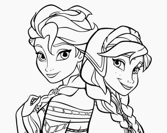 Minnie And Mickey Instant Download Disney Coloring Pages Etsy Mickey Coloring Pages Princess Coloring Pages Disney Coloring Pages