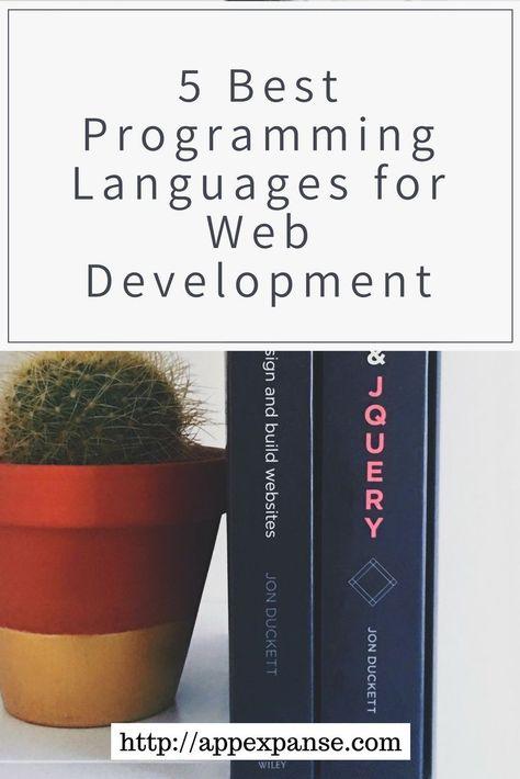 5 Best Programming Languages for Web Development