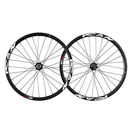 Ican 29er Carbon Cyclocross Bike Wheelset Clincher Disc Brake 25mm