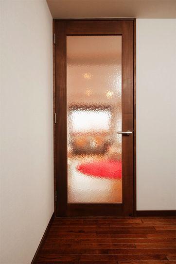 リフォーム リノベーションの事例 建具 リビング ドア ガラス