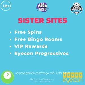 Mega Reel Sister Sites Free Bingo Rooms 500 Free Spins In