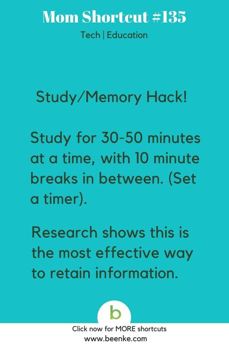 Study Hacks - Learn More Faster! - Beenke