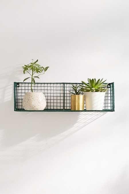 Small Wall Shelf With Hooks