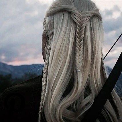 A Reminder That Legolas Had A Upside Down Fishtail Braid As His Hairstyle Fish Tail Braid Hairstyle Braids