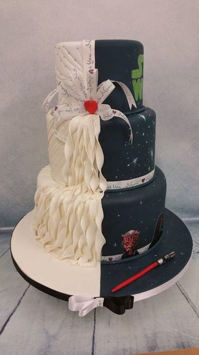 7 star wars wedding cake toppers star wars pinterest star wars 7 star wars wedding cake toppers star wars pinterest star wars wedding cake star wars wedding and star junglespirit Images