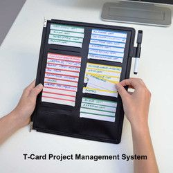 Documate 10 Pocket Desk Reference Organizer With Easy Load Pockets