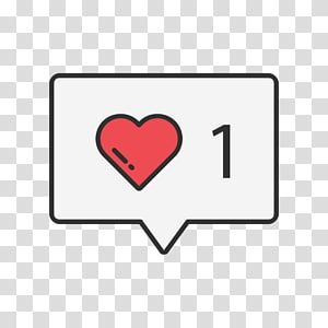 Heart And Number 1 Like Button Computer Icons Social Media Social Networking Service Symbol Socia Computer Icon Facebook Like Logo Facebook Logo Transparent