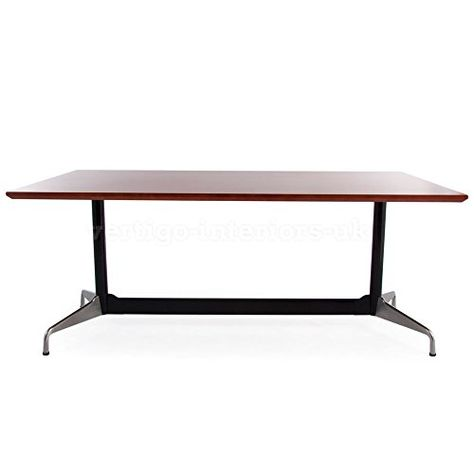 Eames inspired Rectangular Contract Table (Large - 71, Beech - contract layouts