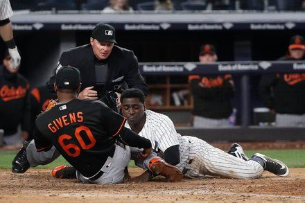 Yankees Lose Pitcher Catcher Then The Game In 14 Innings Bbc World News Latest Sports News Sports News
