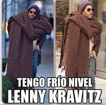 Frio Frio Lenny Kravitz Chistes De Frio