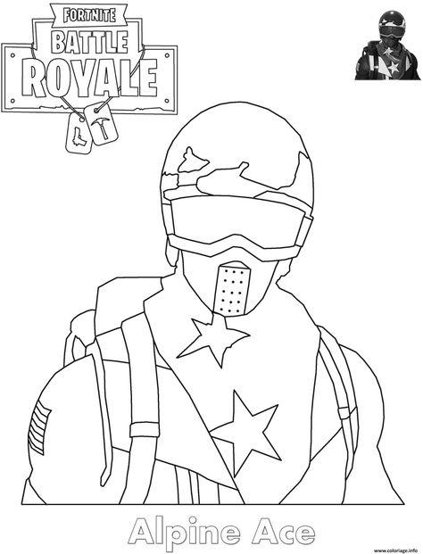 Coloriage Figurine Pop Fortnite.Coloriage Fortnite Battle Royale Personnage 4 A Imprimer Fortnite