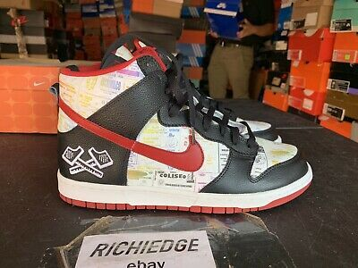 Nike Dunk High Premium Lucha Libre Worn Once Size 10.5 100