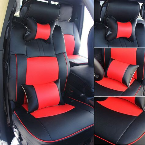 Swell Ad Ebay Pu Leather Seat Cover 5 Seat Car Set For 2009 2018 Ocoug Best Dining Table And Chair Ideas Images Ocougorg