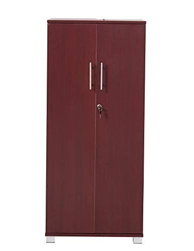 Mmt Pantry Cabinet Tall 2 Door Bookcase Kitchen Cupboard Office Storage Cupboard Filing Cabinet Lock Pantry Cabinet Cupboard Storage Office Storage Cupboards