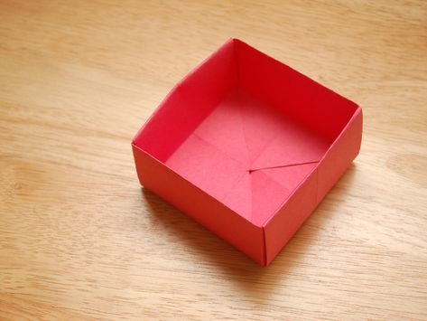 Fold a Divider for an Origami Box | Origami box, Diy origami ... | 355x473