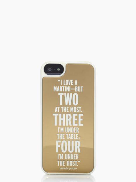 I love a martini iPhone 5 case