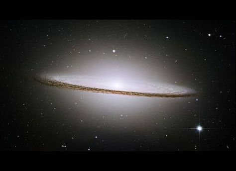 Spiral galaxy 50K light years across and 28 million light years from Earth.