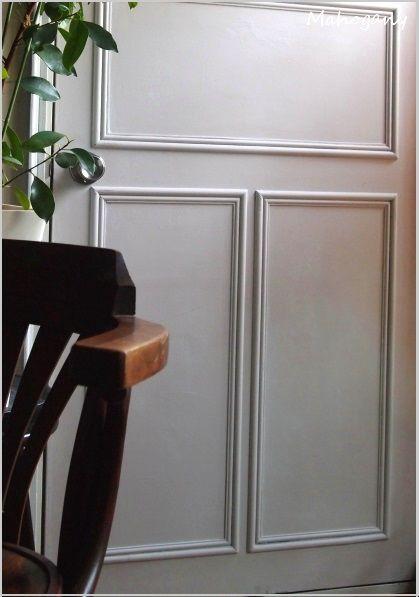 Diy 室内ドア 作業部屋 のリメイク 完成 室内ドア ゴシック