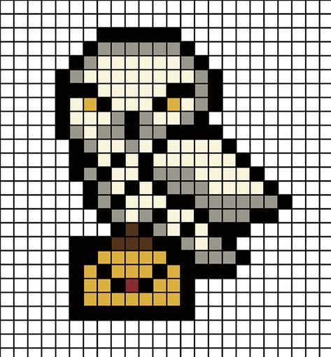 Diy Des Aimants Harry Potter En Perles Hama Je Suis Vernie Coloriage Pixel Harry Potter Bricolage Perles Hama