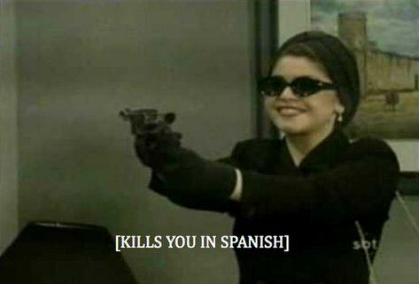 "Photo - 29 'in Spanish' memes that'll make you say: ""Literally me"" Stupid Memes, Dankest Memes, Funny Memes, Jokes, Response Memes, Current Mood Meme, Spanish Humor, Funny Spanish Memes, Mood Pics"