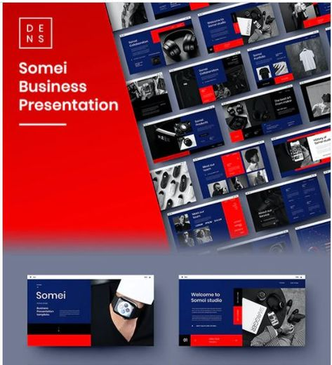 Somei – Business PowerPoint Template