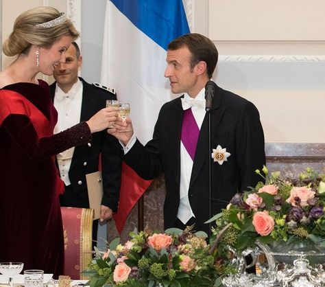 Dinner - State visit of President Emmanuel Macron to ...