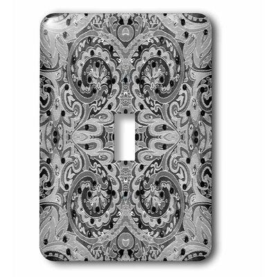 3drose 1 Gang Toggle Light Switch Wall Plate In Gray Black Size Midsize Midway Wayfair In 2021 Toggle Light Switch Rocker Switch Plate Covers Plates On Wall