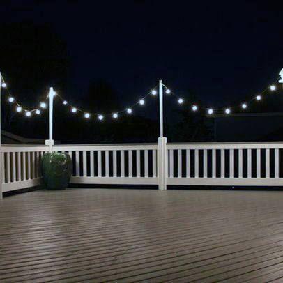 Top 60 Best Deck Lighting Ideas Outdoor Illumination House Lighting Outdoor Deck Lighting Rustic Outdoor Lighting