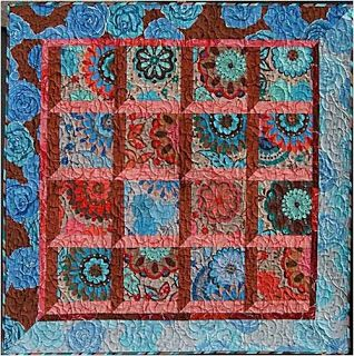 ~free pattern ~  Olive Rose, an attic windows pattern by Valori Wells for Free Spirit Fabrics