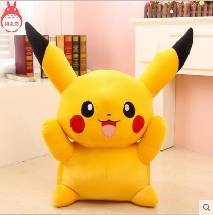 Big Size 55cm 22inch Pikachu Plush Toys High Quality Very Cute Plush Toys For Children S Gift 1pcs In 2021 Pikachu Plush Cute Plush Animal Plush Toys