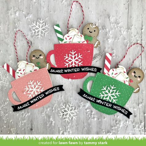 In My Creative Opinion: 25 Days of Christmas Tags 2020 - Day 14 Christmas Card Crafts, 25 Days Of Christmas, Christmas Paper, Xmas Cards, Handmade Christmas, Holiday Crafts, Christmas Ornaments, Christmas Projects, Christmas Ideas