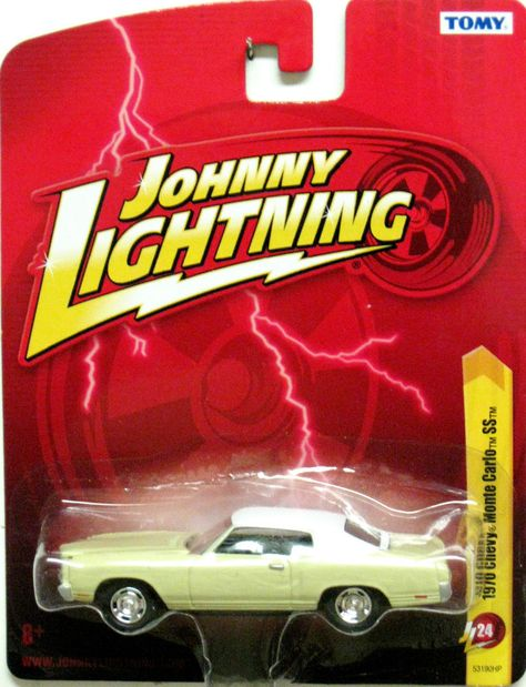 1970 Chevy Monte Carlo Johnny Lightning 2012 Forever 64 Release 24