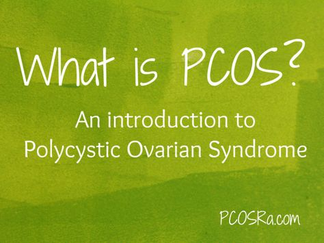 What is PCOS? PCOS stands for Polycystic Ovarian Syndrome. PCOS is an endocrine disorder. Your endocrine system produces and regulates hormones. PCOS is a syndrome. A syndrome is a collection of signs and symptoms that frequently appear together but do not have a known cause. THERE IS NO CURE FOR PCOS