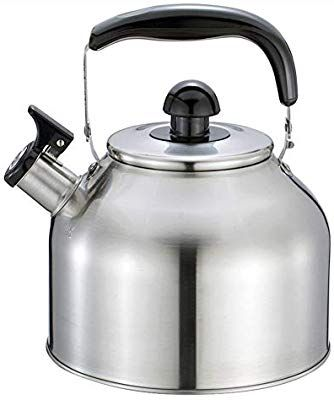 Amazon Com Remeehi Tea Kettle Stainless Steel Stovetop Teapot Gas Induction Electric Ceramic Halogen Wood Stov Stainless Steel Kettle Kettle Stovetop Teapot
