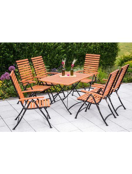 Gartenmobelset 7tlg 6 Sessel Tisch 120x80cm Klappbar Eukalyptus Braun Jetzt Bestellen Unter Https Moebel Ladendir Aussenmobel Gartenmobel Gartenstuhle