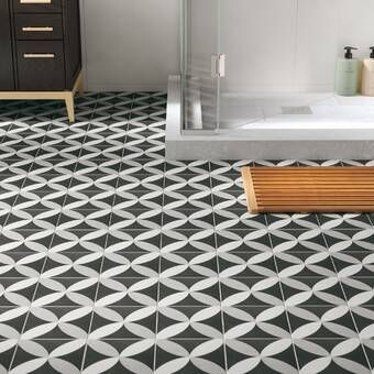 Godfrey 10 X 10 Porcelain Field Tile Reviews Allmodern In 2020 Tile Floor Flooring Floor And Wall Tile