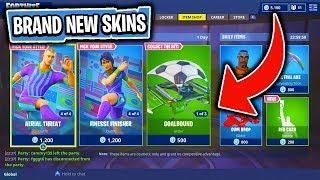 The Brand New World Cup Items In Fortnite Battle Royale Skin Reset Fortnite New World Skin