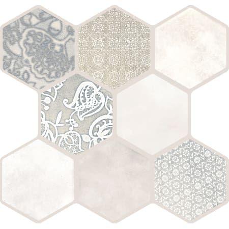 1 Hexagon Basalt Mosaic Tile Mosaic Tiles Mosaic Bathroom Tile Hexagon Mosaic Tile