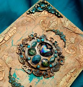 DIY Tutorial - Altered Book Box  #recycle                              …