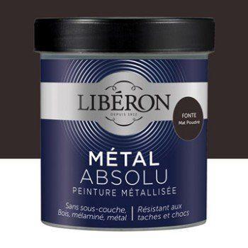 Peinture Meuble Objet Porte Metallise Liberon Metal Absolu Fonte 0 5 L Mat Avec Images Liberon Peinture Meuble Miroir Industriel