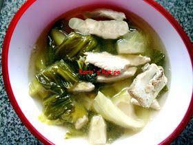 Karin S Recipe Soup Bakut Sawi Asin Ribs Pickled Bok Choy Soup Bok Choy Soup Soup Recipes