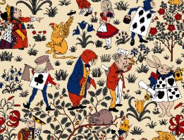 Alice In Wonderland Bathroom Accessories Zazzle Co Uk Vintage