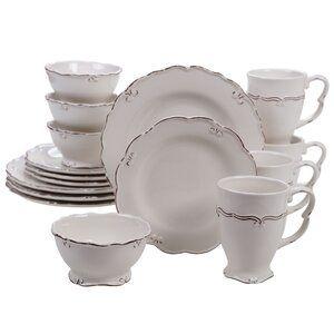 Kriebel 12 Oz Coffee Mug In 2021 Cream Dinnerware Dinnerware Sets Dinnerware Set