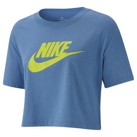 Nike Sportswear Women's Essential Crop Futura Icon T Shirt