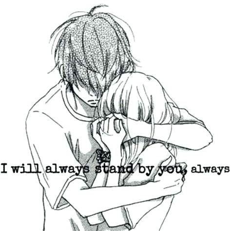 Cute Drawings Boy And Girl Girl Cartoon Cute Drawings Cute Hug